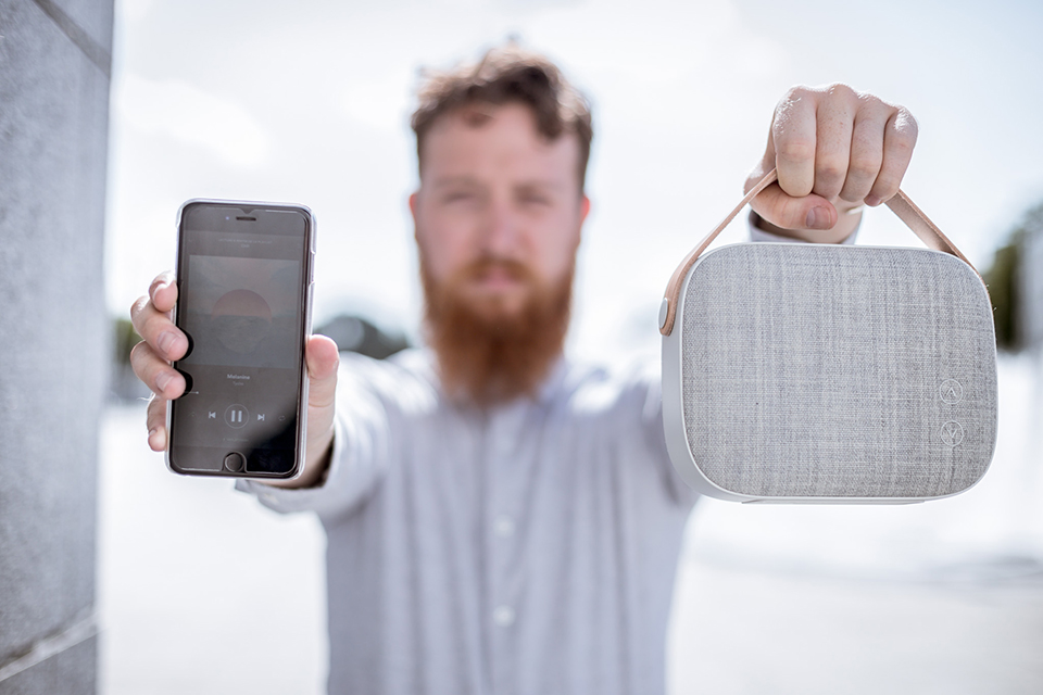 Enceinte Vifa Helsinki Portable Mains