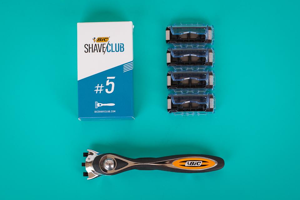 bic shave club rasage abonnement