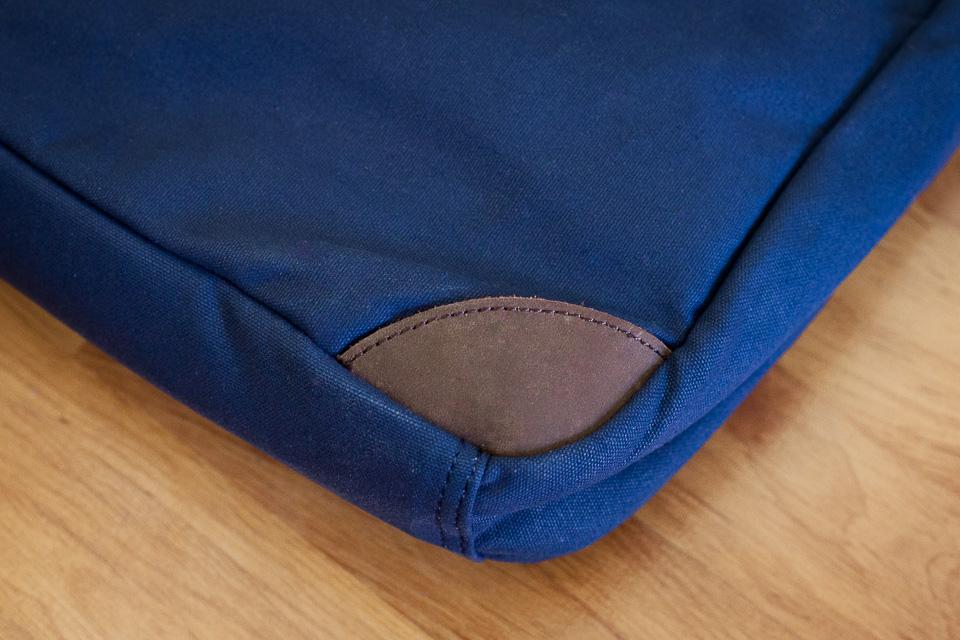renfort cuir sac billybelt ordinateur