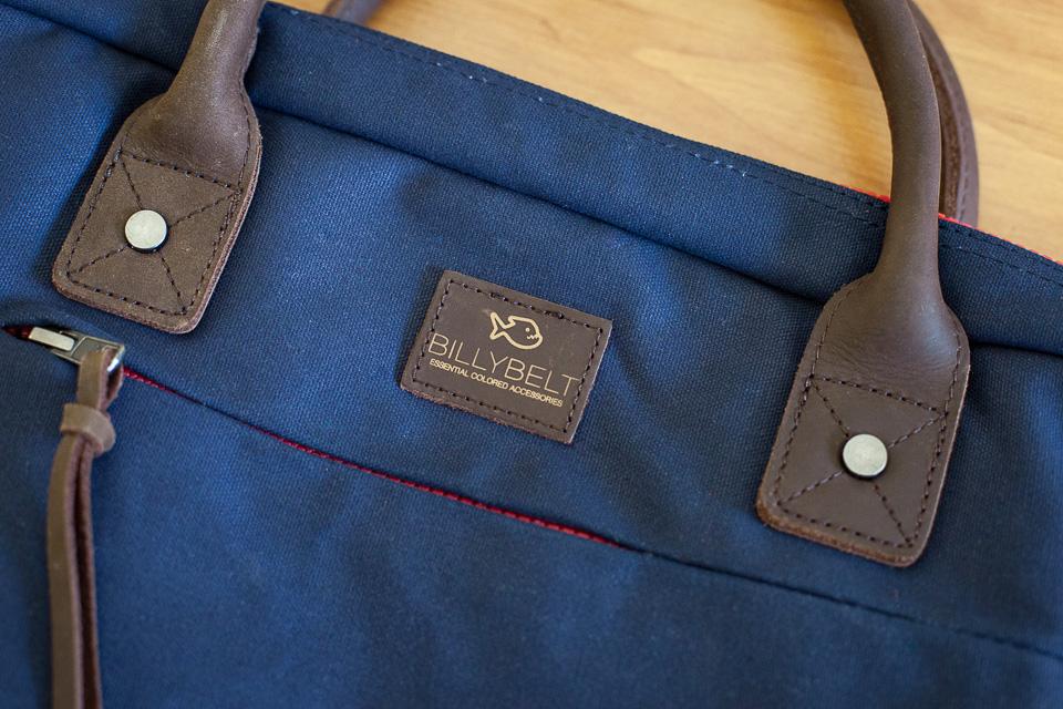sac billybelt cuir coton