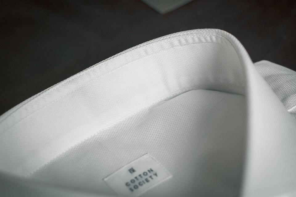 Chemise Cotton Society Doublure Col