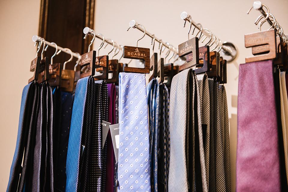 Costume Scabal Cravates
