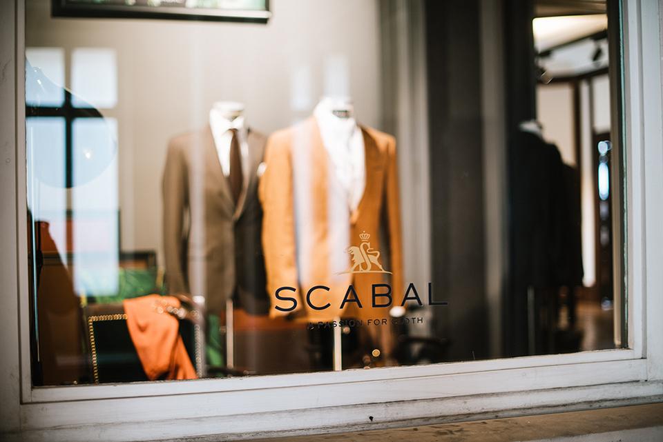 Costume Scabal Miroir