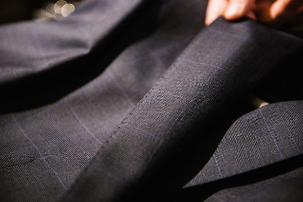 Costume Scabal Zoom Tissu