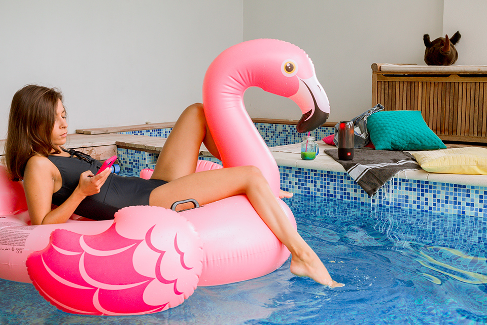 Enceinte JBL Marion Flamand Rose