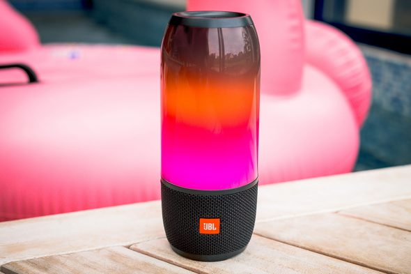 Enceinte JBL Volume Rose Orange