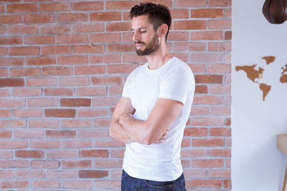 Le Basiq Porte Tshirt Blanc