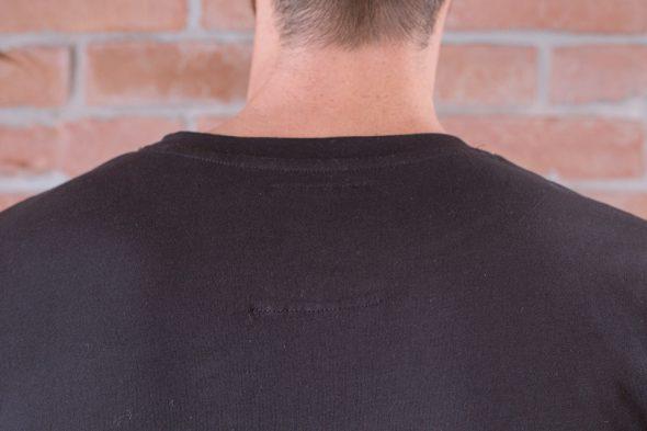 Le Basiq Tshirt Noir Etiquette