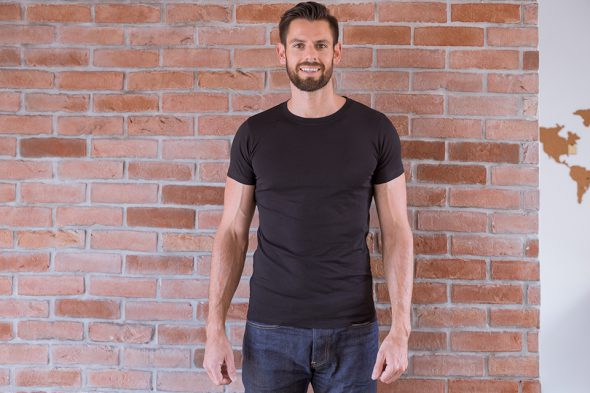 Le Basiq Tshirt Noir Porte