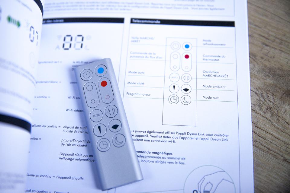 Ventilateur Dyson Telecommande Manuel
