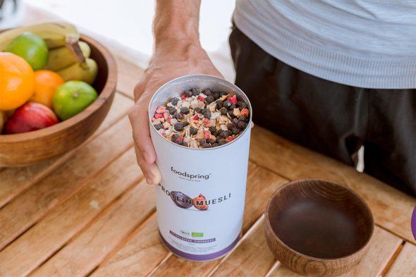 avis protein muesli foodspring