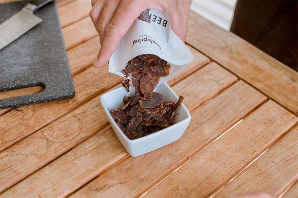 beef jerky foodspring avis