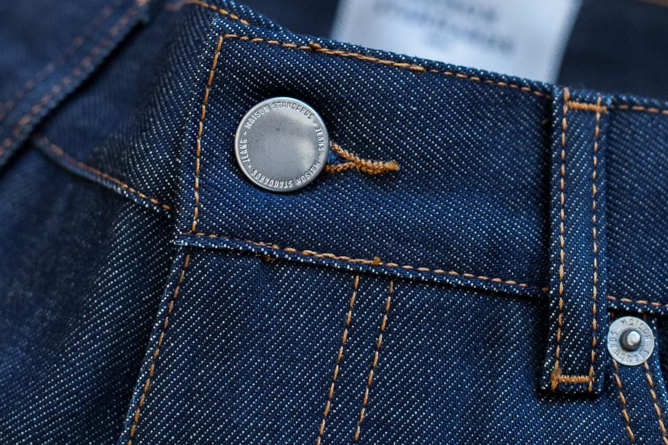 boutonniere jeans selvedge maison standards