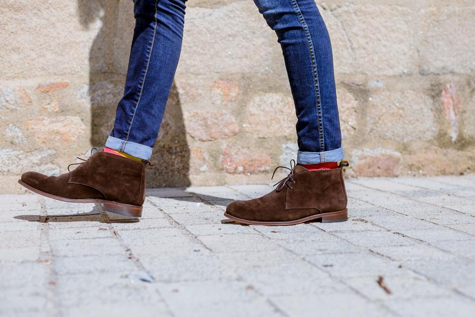 chukka boots jules jenn marron