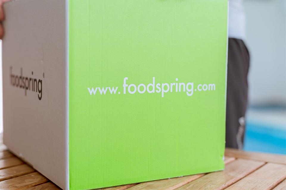 colis foodspring