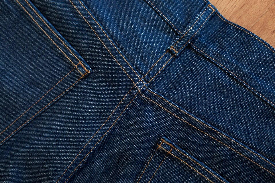 coutures jeans maison standards selvedge