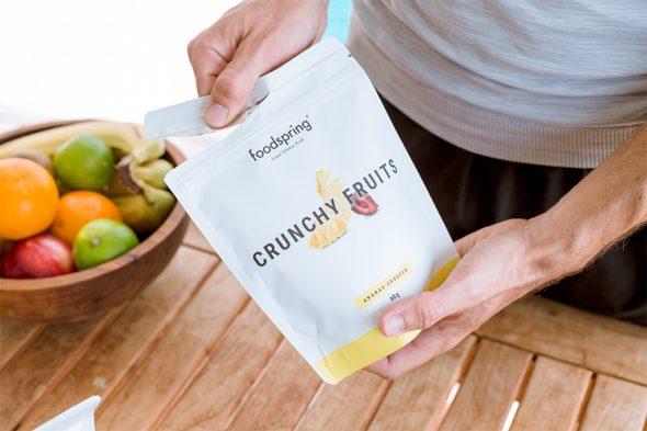 crunchy fruits foodspring avis