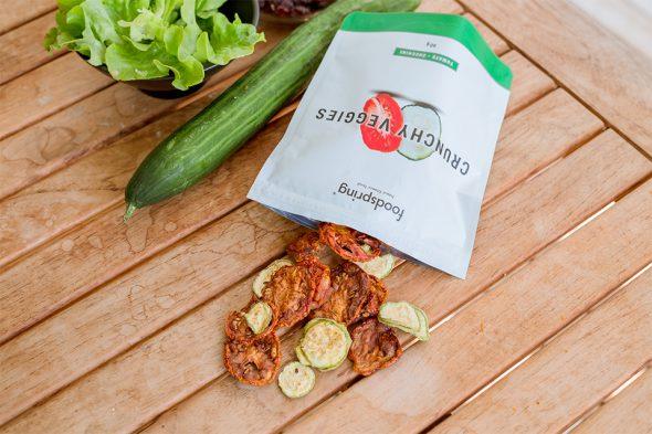 crunchy veggies foodspring avis