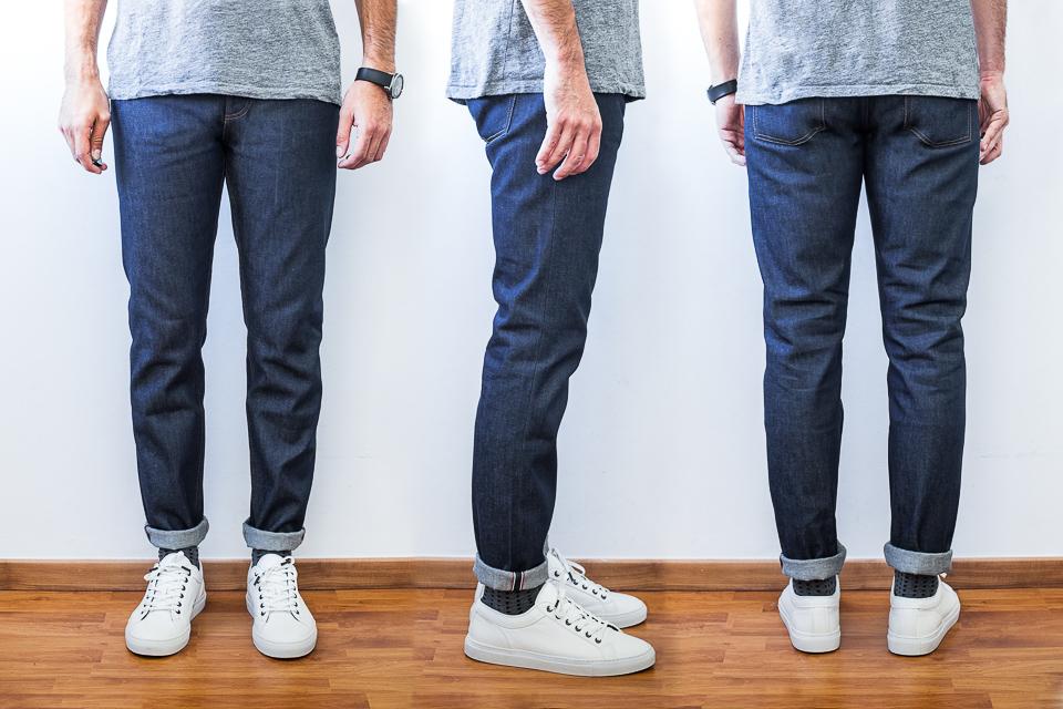 jeans selvedge maison standards avis test