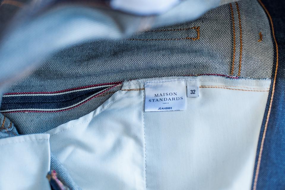 lisere selvedge jeans maison standards