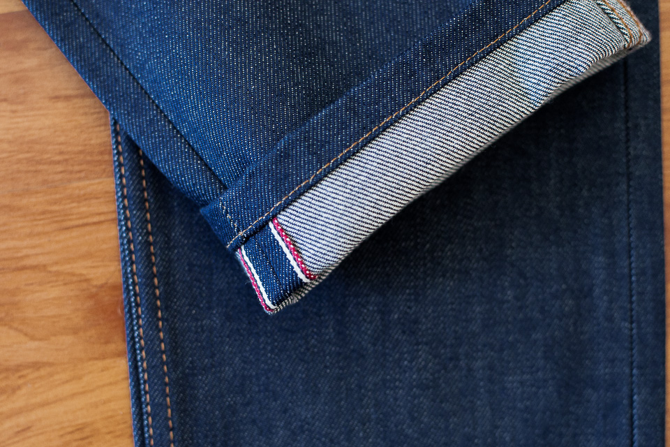maison standards italian denim selvedge