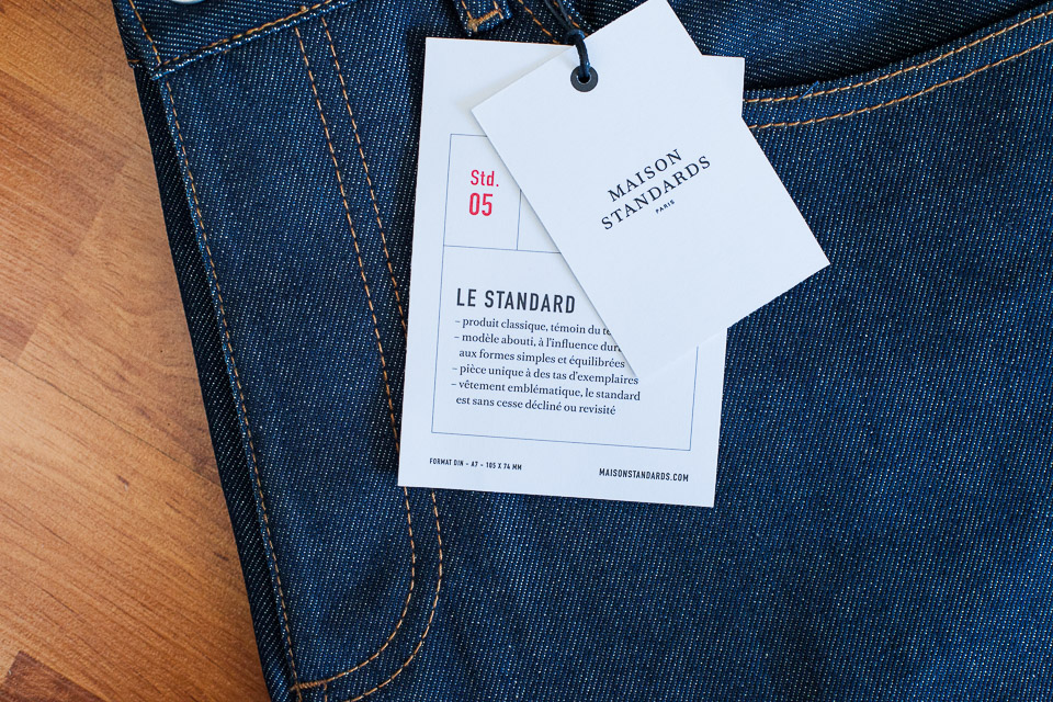 Jeans selvedge maison standards test avis for Maison standard