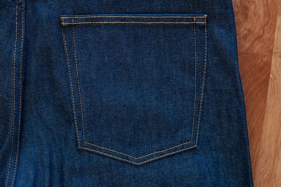 poche arriere jeans maison standards