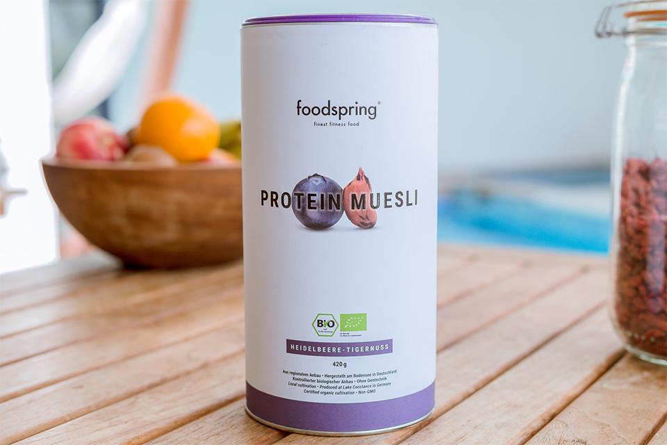 protein muesli foodspring