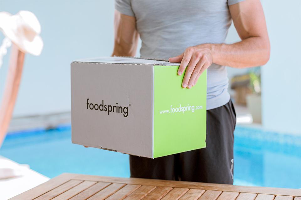 reception colis foodspring