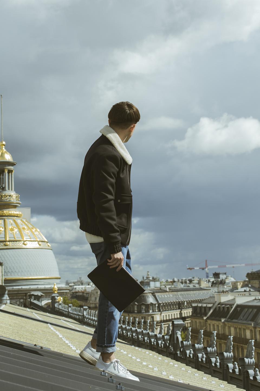 shooting look rooftop paris comme un camion