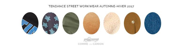 street workwear tendance homme ah17