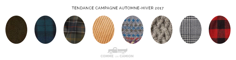 tendance campagne homme 2017 motifs