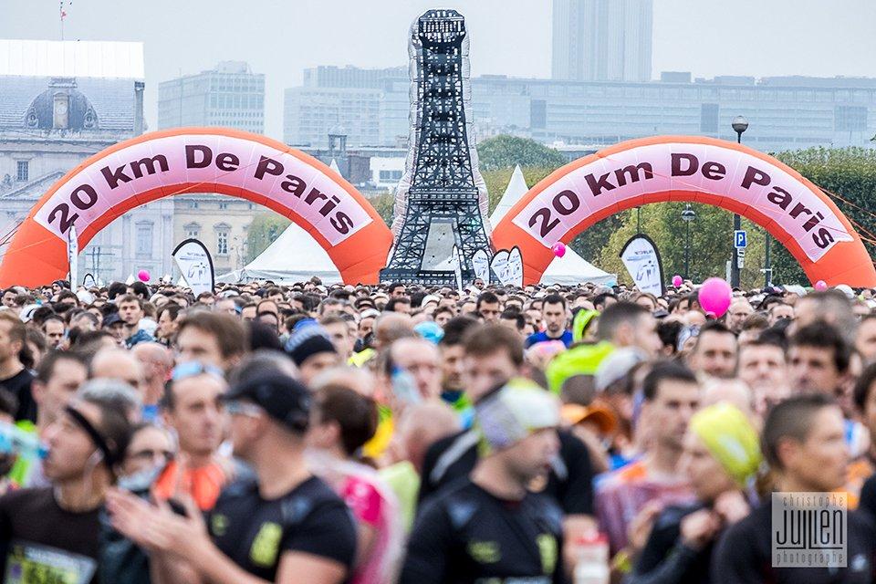20 km de Paris SAS Départ