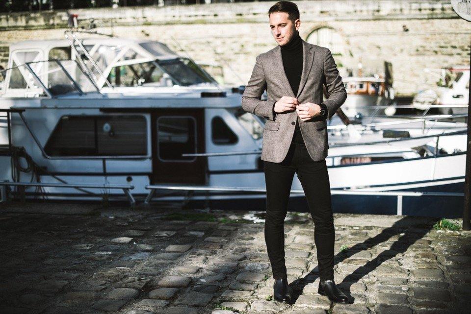 Bassin de l'arsenal mode homme