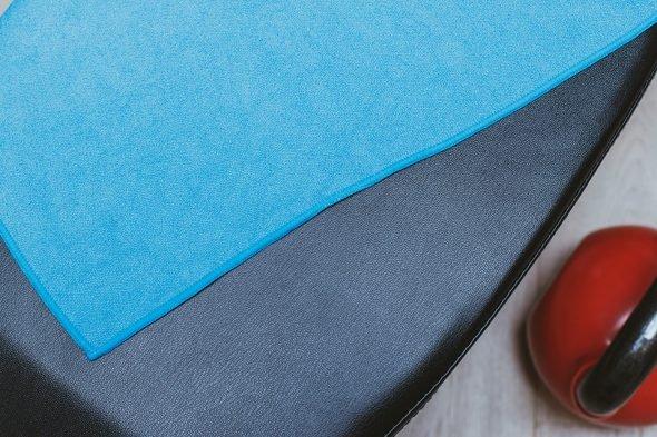 Blue Bubble Seance Serviette Biodynamic Bleue Banc Musculation