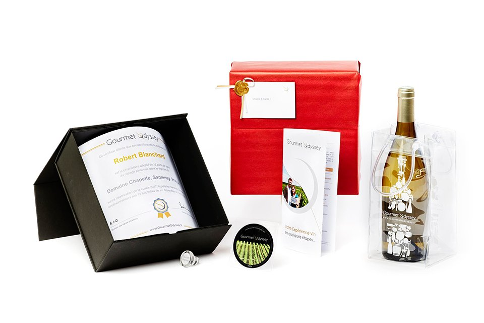 gourmet odyssey coffret experience vin