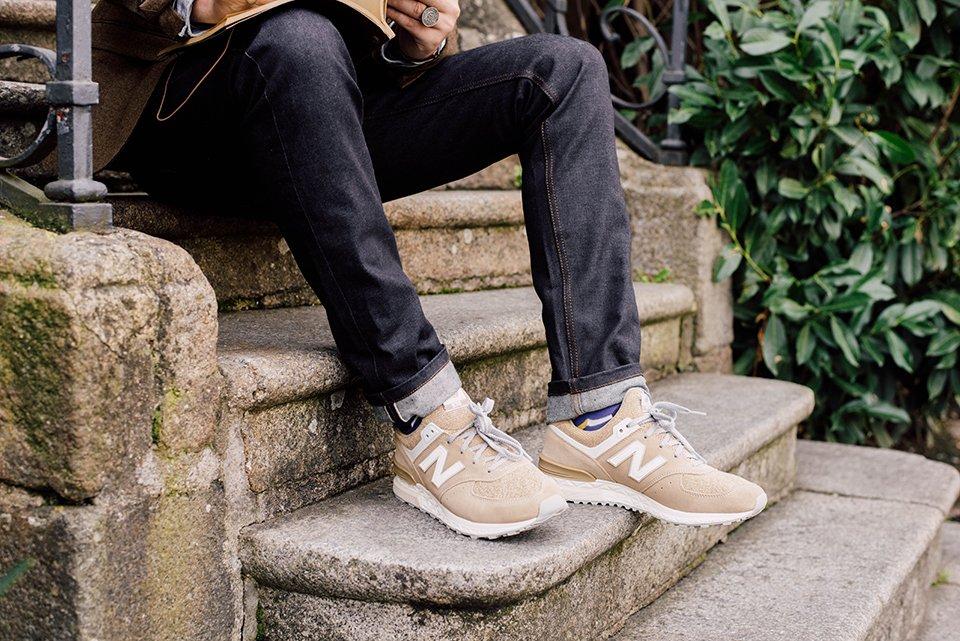 Look Rennes Etudiant Escalier Chaussures