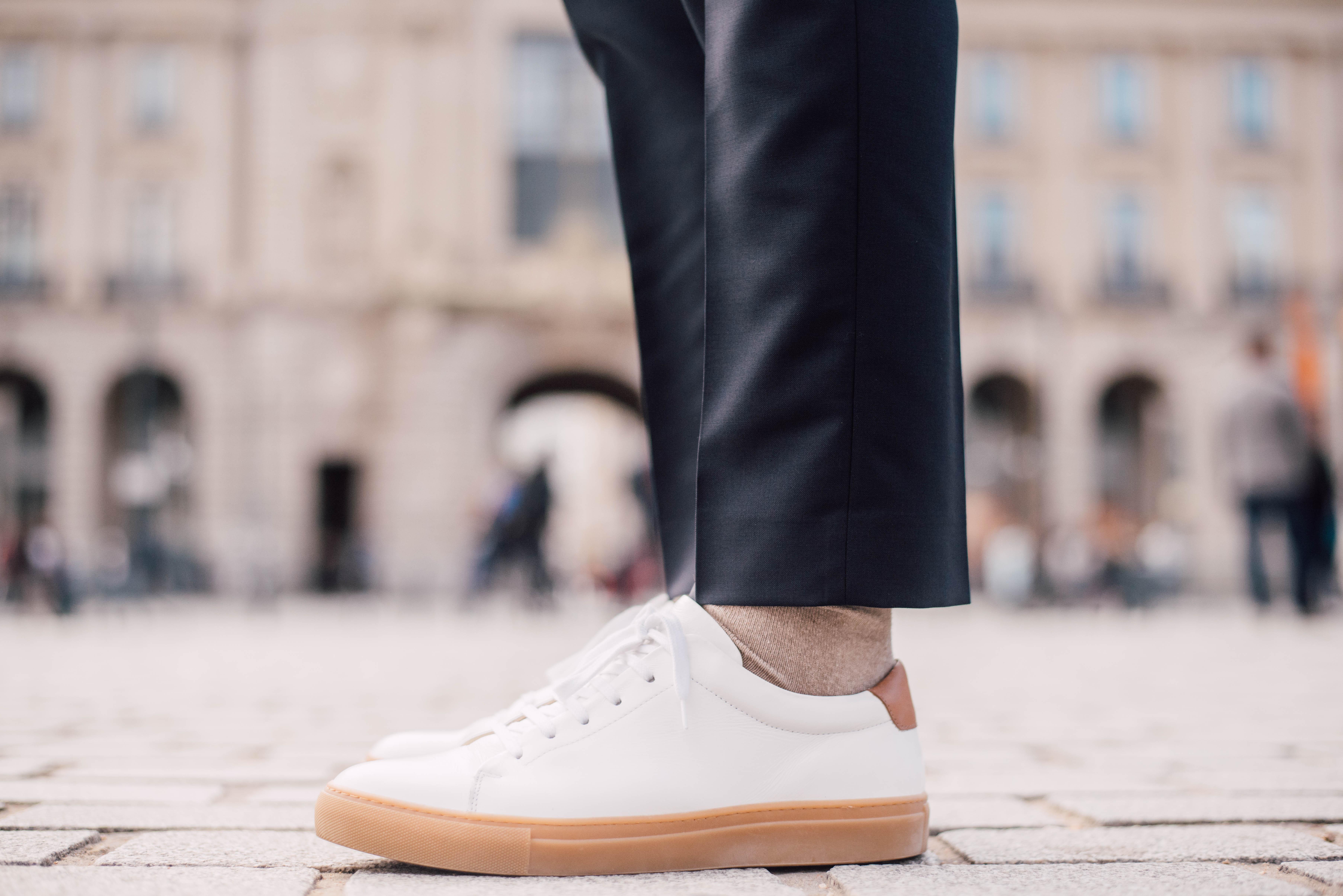 baskets rudys kooper blanc