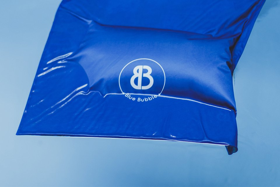 blue bubble logo