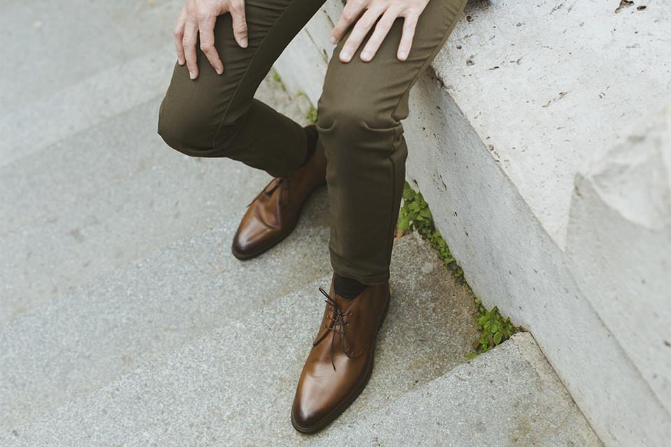 chaussures hardrige stan marron