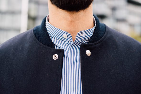 chemise col mao harmony cyril ah17