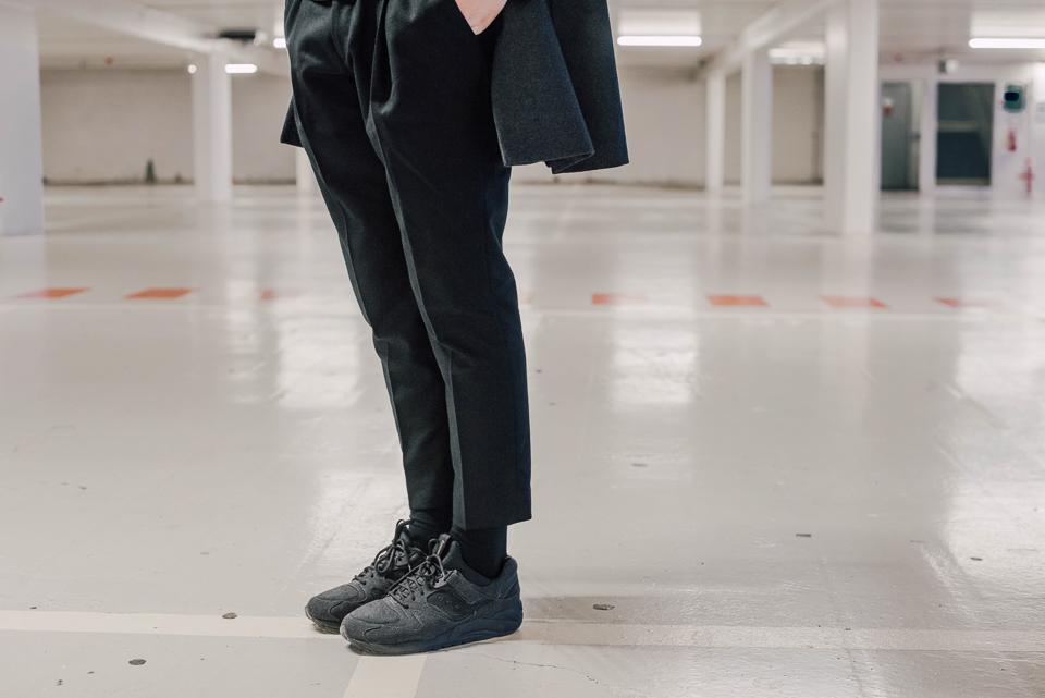 pantalon harmony patt black