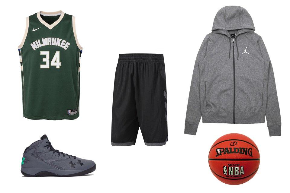 tenue basketball homme bucks