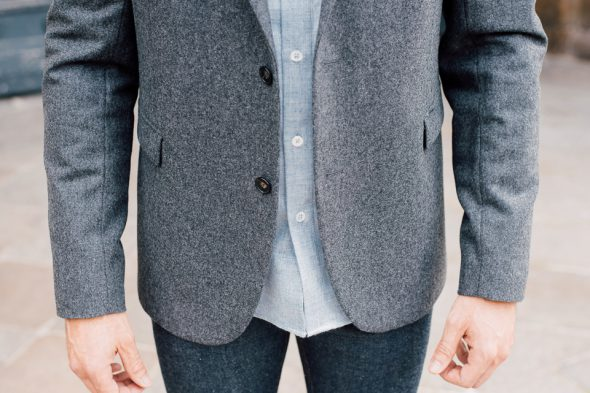 veste chemise association homme