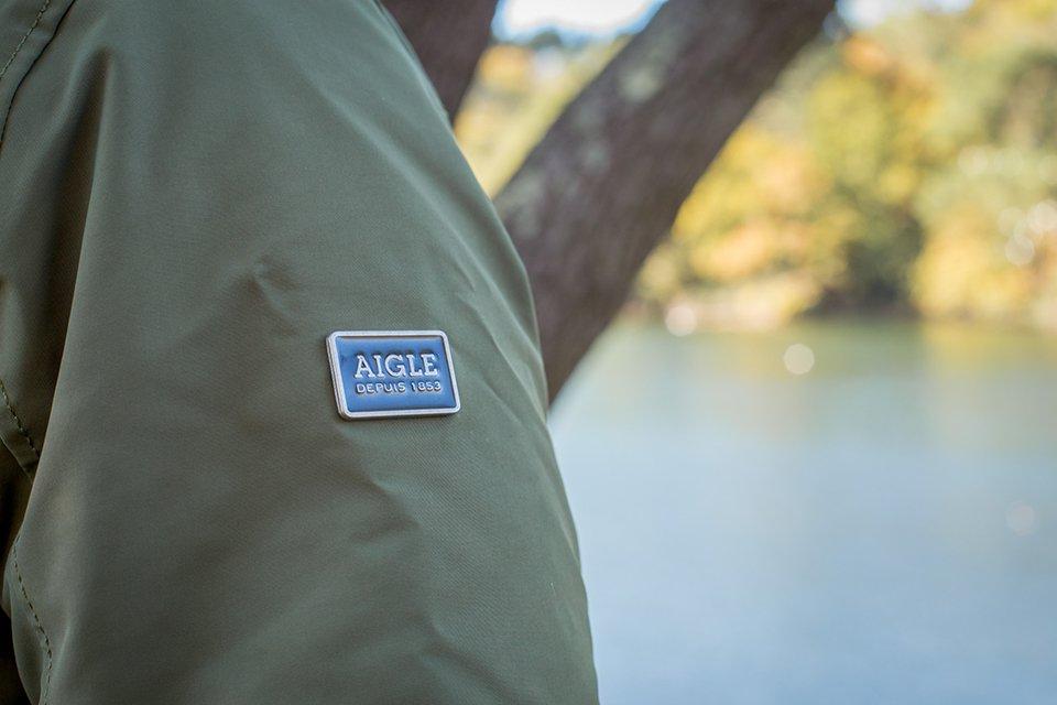 Aigle Laksand Logo Manche