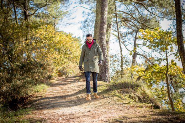 Aigle Laksand Marche Chemin