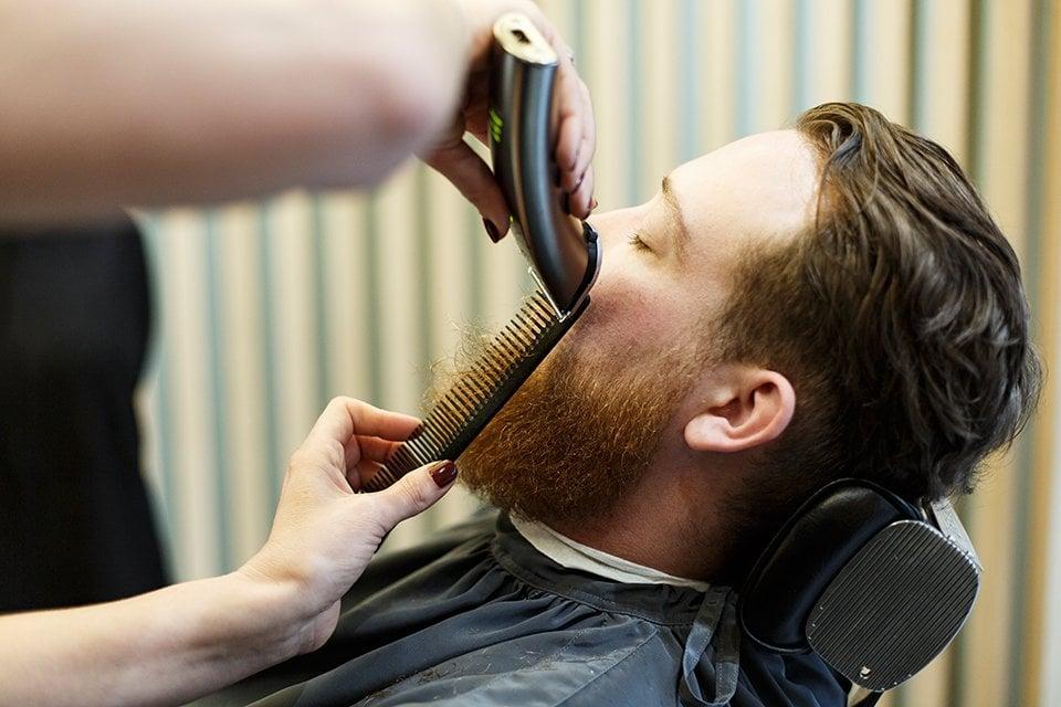 Barbiere Coupe Peigne Tondeuse