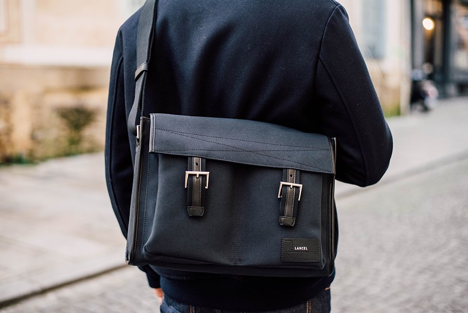 Lancel Sac Messenger Epaule