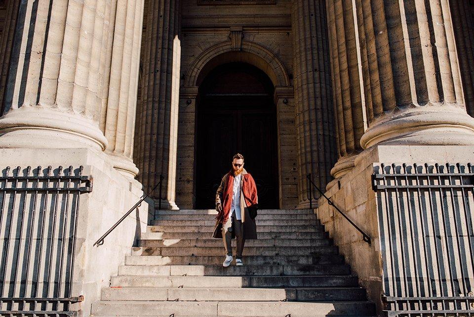 Look Hobo Descente Escalier
