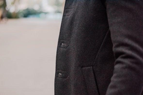 Percival Pea Coat Boutonniere